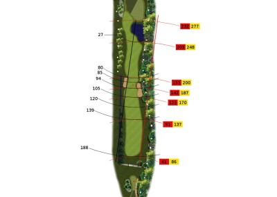 Hull 3 (Par 4, Indeks 12)