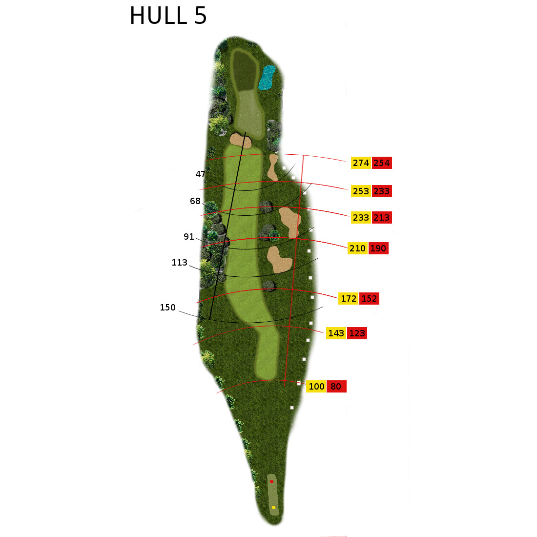 Hull 5 (Par 4, Indeks 4)