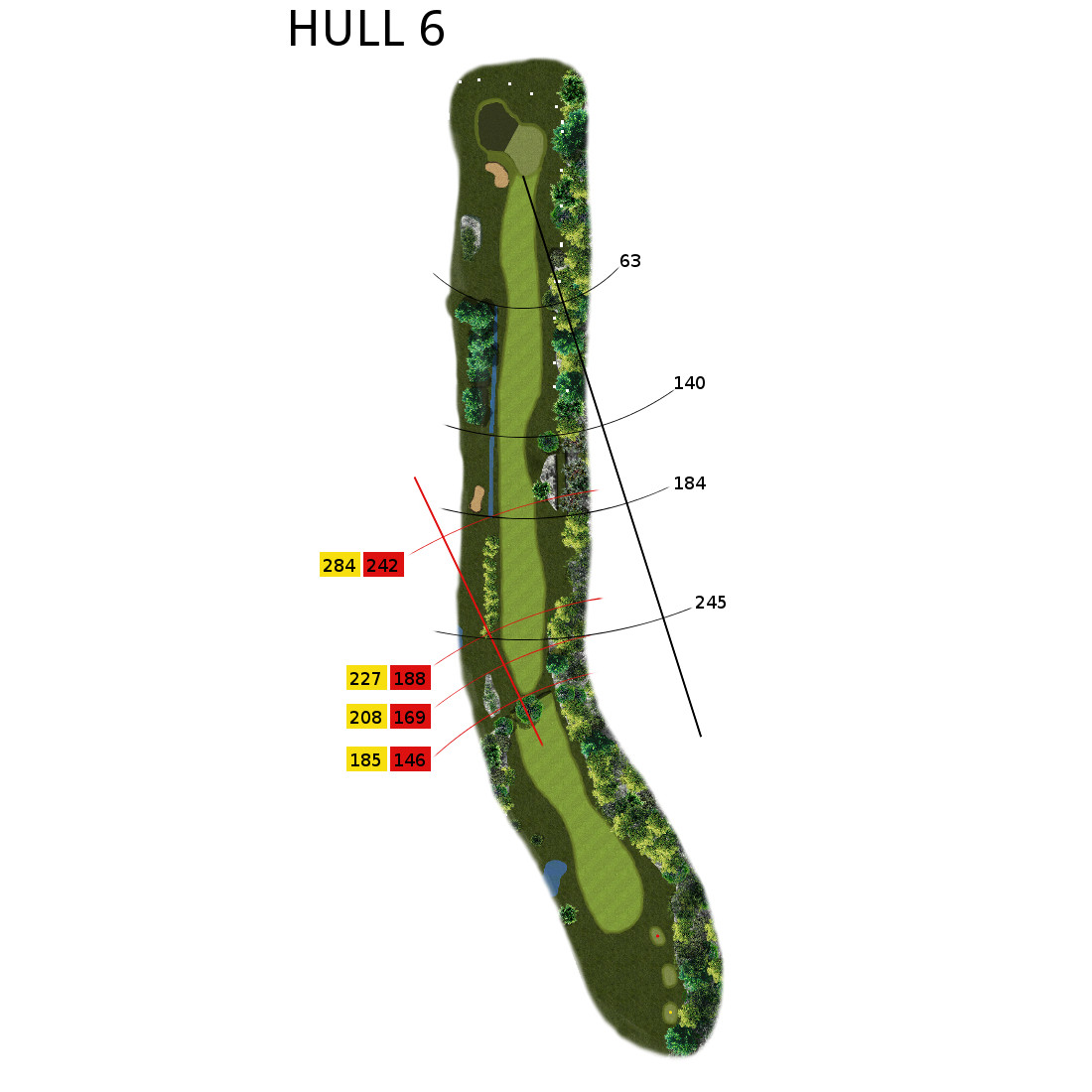 Hull 6 (Par 3, Indeks 15)